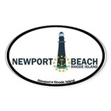 Newport Beach RI - Lighthouse Design Decal