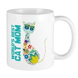 Cat Mom Small Mug