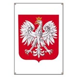 Poland Coat of Arms Banner