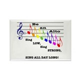 Be an Alto Rectangle Magnet (100 pack)