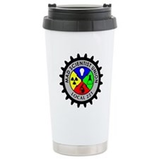 Mad Scientist Union Ceramic Travel Mug