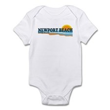 Newport Beach RI - Beach Design Infant Bodysuit