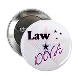 "Law Diva (Star) 2.25"" Button"