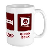 Eat Sleep Glenn Beck Ceramic Mugs