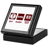 Eat Sleep Glenn Beck Keepsake Box