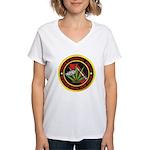 Pataula Drug Task Force Women's V-Neck T-Shirt