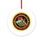 Pataula Drug Task Force Ornament (Round)