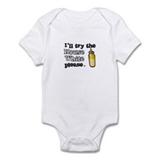 House White Infant Bodysuit