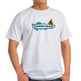 Newport Beach RI - Surf Design T-Shirt