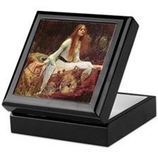 Lady of Shalott Keepsake Box