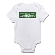Banksters Are Meat Infant Bodysuit