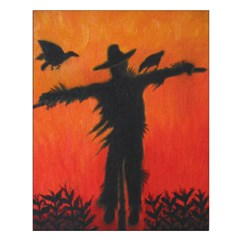 Scarecrow at Dusk - Poster
