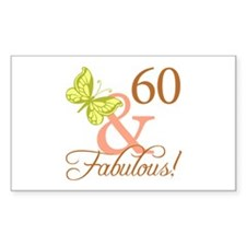 60 & Fabulous (Autumn) Decal