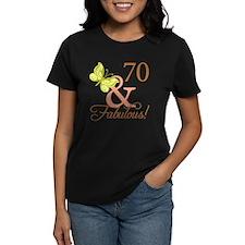 70 & Fabulous (Autumn) Tee