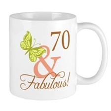 70 & Fabulous (Autumn) Mug