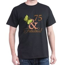 75 & Fabulous (Autumn) T-Shirt