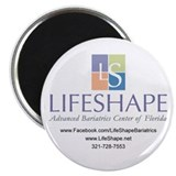 "LifeShape 2.25"" Promotional Magnet (100 pack)"