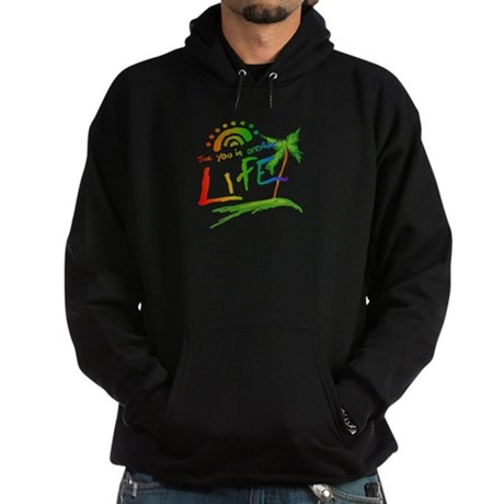 Another Life LOST Black Dark Hoodie
