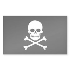 Pirate Flag vinyl sticker (10 pk)
