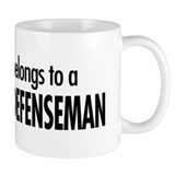 My heart, defenseman Small Mug