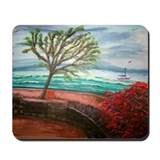 """Terrace on The Wharf"" Mousepad"