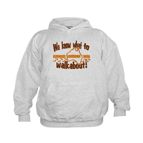 Melbourne Walkabout LOST Kids Hoodie