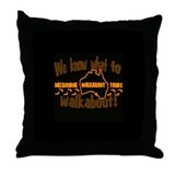 Melbourne Walkabout LOST Throw Pillow