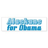 Alaskans for Obama Bumper Sticker