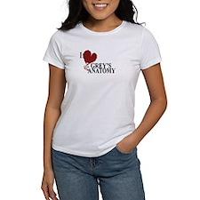 I Love Grey's Anatomy Women's T-Shirt