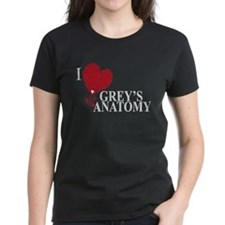 I Love Grey's Anatomy Women's Dark T-Shirt