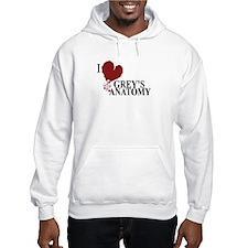 I Love Grey's Anatomy Hooded Sweatshirt