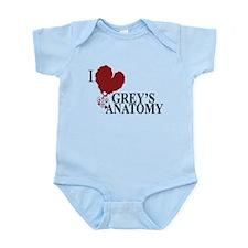 I Love Grey's Anatomy Infant Bodysuit