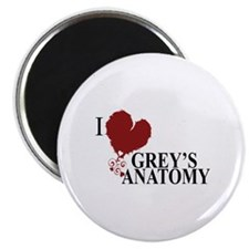 I Love Grey's Anatomy Magnet