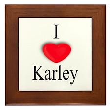 Karley Framed Tile