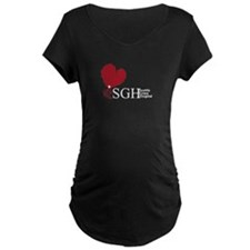 Seattle Grace Hospital Maternity Dark T-Shirt