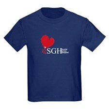 Seattle Grace Hospital Kids Dark T-Shirt