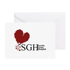 Seattle Grace Hospital Greeting Card
