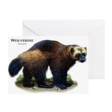 Wolverine Greeting Card