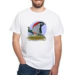 Lady Amherst Pheasant White T-Shirt