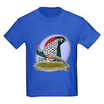 Lady Amherst Pheasant Kids Dark T-Shirt