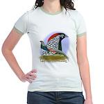 Lady Amherst Pheasant Jr. Ringer T-Shirt