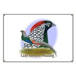 Lady Amherst Pheasant Banner