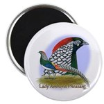 """Lady Amherst Pheasant 2.25"""" Magnet (100 pack)"""