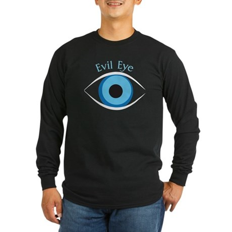 Evil Eye Long Sleeve Dark T-Shirt