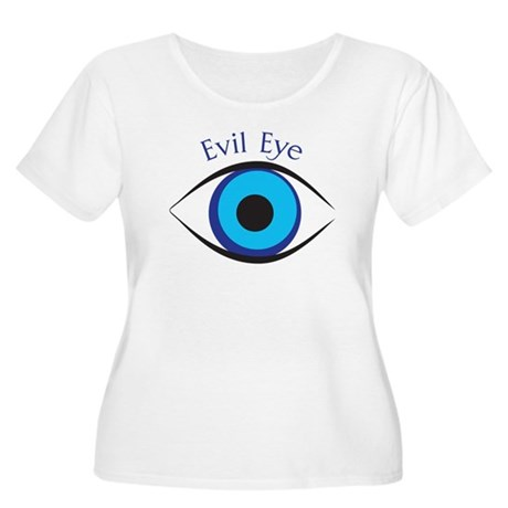 Evil Eye Women's Plus Size Scoop Neck T-Shirt