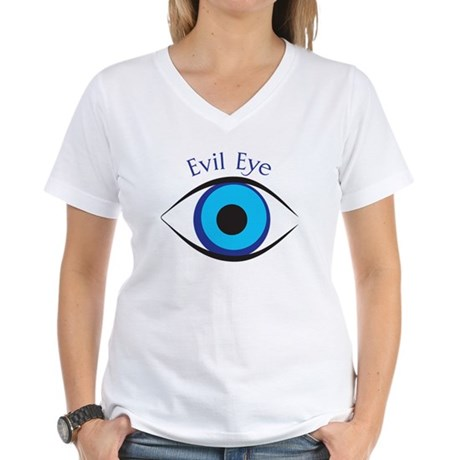 Evil Eye Women's V-Neck T-Shirt