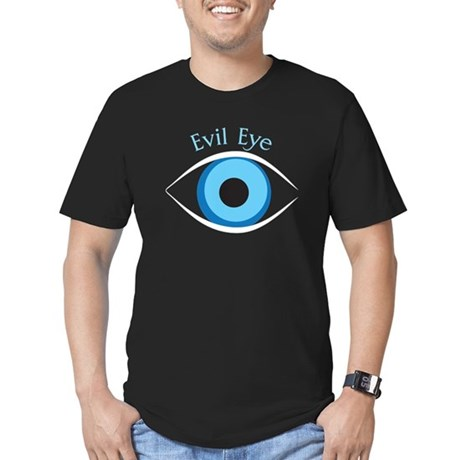 Evil Eye Men's Fitted T-Shirt (dark)