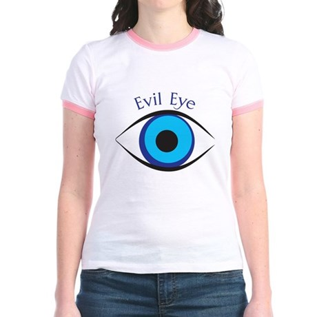 Evil Eye Jr. Ringer T-Shirt