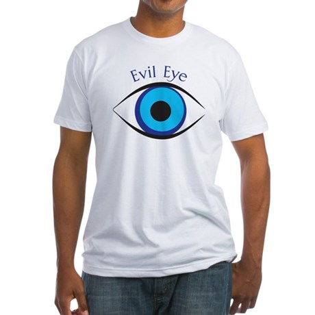 Evil Eye Fitted T-Shirt