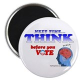 "Next Time, THINK 2.25"" Magnet (100 pack)"